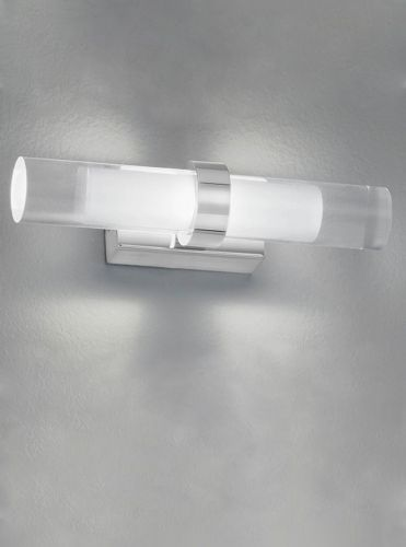 Franklite WB051 Chrome Wall Light (Class 2 Double Insulated)